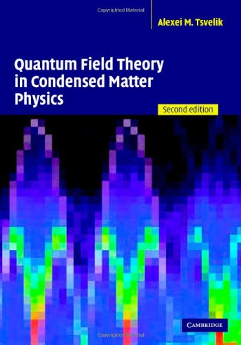 Quantum Field Theory In Condensed Matter Physics front-980274
