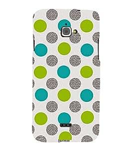 Fuson Premium Printed Hard Plastic Back Case Cover for Infocus M350