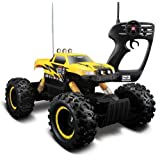 Maisto Yellow Color Maisto Remote Control Rock Crawler Off-Road Monster Truck
