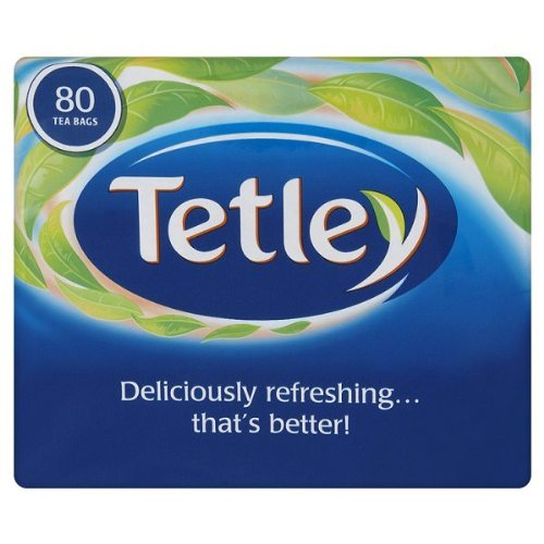 Tetley 80 Tee Beutel