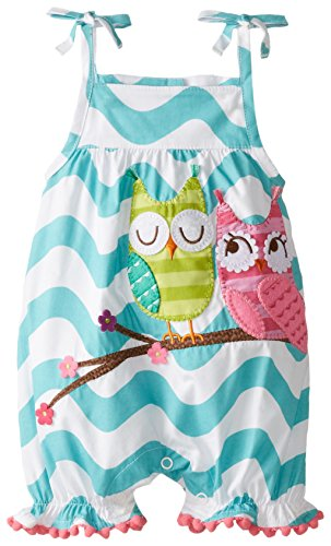 Mud Pie Baby-Girls Infant Owl Bubble