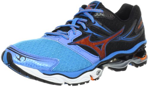 Mizuno Mizuno Men's Wave Creation 14 Running Shoe,Dude Blue,9.5 D US