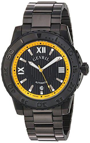 Gevril-Mens-3112B-Seacloud-Analog-Display-Automatic-Self-Wind-Black-Watch
