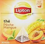 Lipton Th� parfum� peche mangue 20 sa...