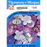 Thompson & Morgan 2406 Geranium 'Reflections Perennial Mix' Seed Packet