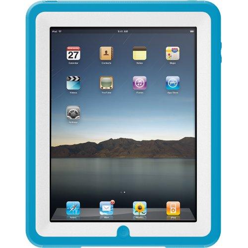 Otterbox APL2-IPAD1-C5-C4OTR iPad Defender Case (White Plastic/Blue Silicone