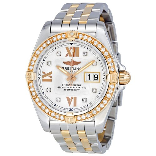 Breitling Cockpit Diamond Rose Gold Ladies Watch C4935053-A672TT