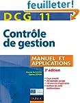 DCG 11 - Contr�le de gestion - 3e �di...