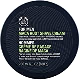 The Body Shop For Men Maca Root Shave Cream Regular, 6.3 Fluid Ounces