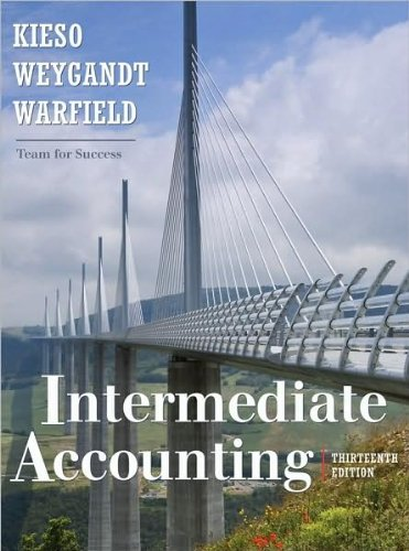 by Donald E. Kieso, by Jerry J. Weygandt, by Terry D. Warfield Intermediate Accounting(text only)[Hardcover]2009