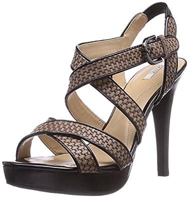 Geox D Ivana Sand C, Sandales femme: Chaussures et Sacs