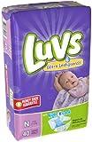 Luvs Ultra Leakguards Diapers - Newborn - 40 ct