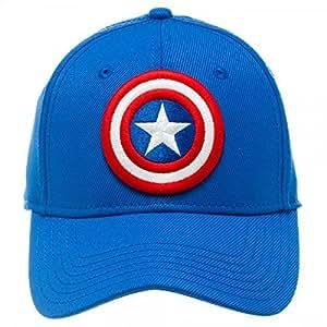 baseball cap captain america logo active