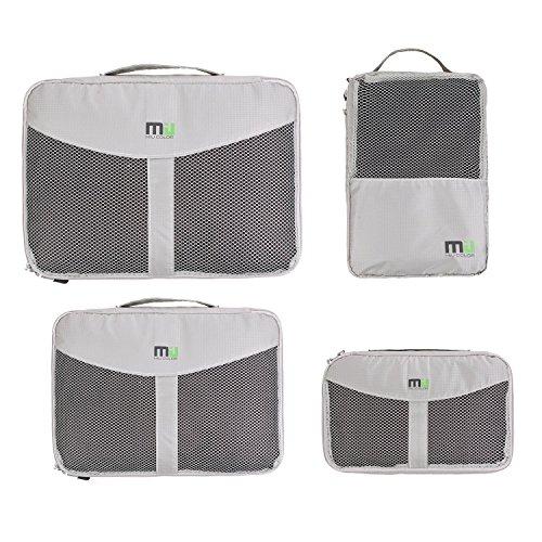 miu-colorrkleidertaschen-4er-set-nylon-organizer-tasche-aufbewahrungsbox-schuhbeutel-grau