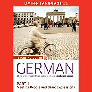 Starting Out in German, Part 1 Audiobook