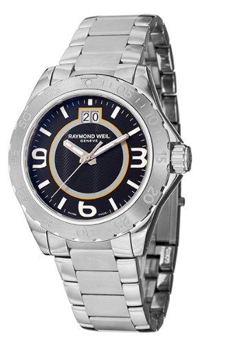 Raymond Weil - 8650 -ST -05207 - Montre Homme - Quartz Analogique - Cadran Argent - Bracelet en Acier Inoxydable