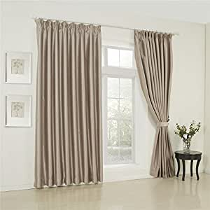 Amazon.com: IYUEGO Wide Curtains 120Inch-300Inch for Large Windows