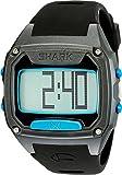 Freestyle Unisex 10025776 Shark Tooth Digital Display Japanese Quartz Black/ Cyan Watch