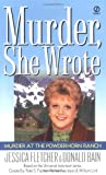 Murder She Wrote: Murder at the Powderhorn Ranch (0451194764) by Jessica Fletcher