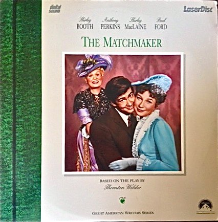 the-matchmaker-starring-shirley-booth-anthony-perkins-shirley-maclaine-paul-ford-1958-laser-disc