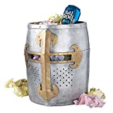 Park Avenue Collection Crusaders Great Helm Trash Bin