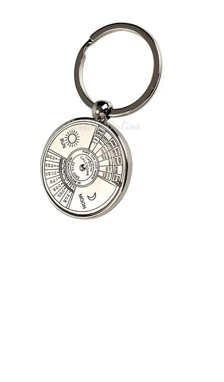 Gift for Fathers Day - Perpetual Calendar Keychain turgenev ivan sergeevich fathers and children