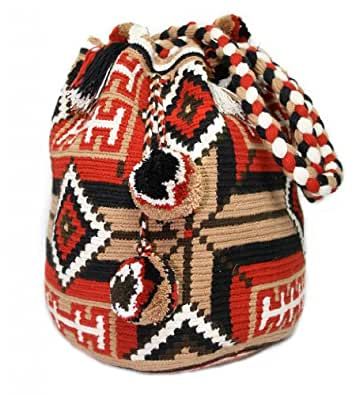 Wayuu Mochila Bag - Trendy Seasons # GF 7810: Handbags: Amazon.com