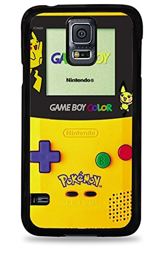 556 Pikachu Gameboy Samsung Galaxy S5 Hardshell Case - Black front-582552
