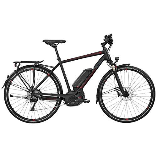 Bergamont E-Horizon 8.0 Bosch Herren Pedelec Elektro Fahrrad schwarz/rot 2017