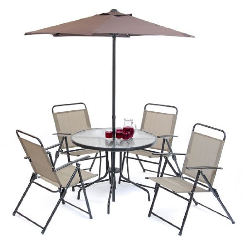 Florida 6 piece Bronze Patio Furniture Set