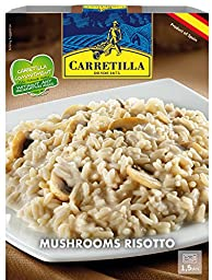 Carretilla, Mushroom Risotto,8.9 Ounce Each Unit, (Pack of 6)
