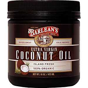 review Barlean's Organic Oils Extra Virgin Coconut Oil, 16-Ounce Jar