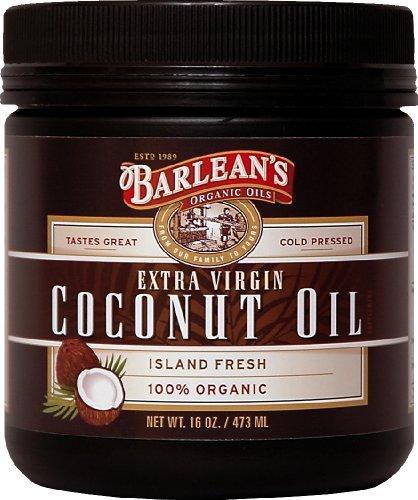 Barlean's Organic Oils Extra Virgin Coconut Oil, 16-Ounce Jar