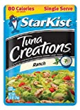 Starkist Tuna Creations Single Serve 2.6oz Pouch (Pack of 12) (Ranch)