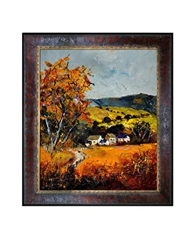 Pol Ledent Autumn 671101 Framed Canvas Print