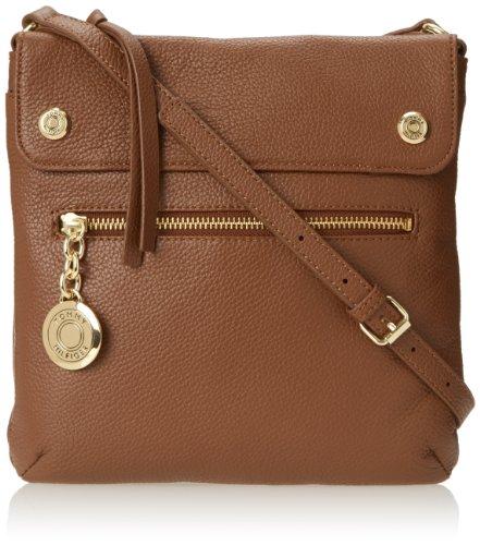 Tommy Hilfiger Th Starlit Crossbody Cross-Body Bag,Chestnut,One Size