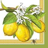 Lemon Buzz Luncheon Napkins