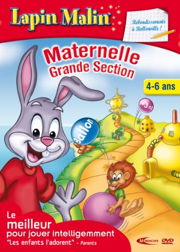 Lapin Malin Maternelle 3 - Rebondissement aballonville 4-6 ans  (vf - French software)