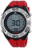 Joshua & Sons Men's JS66RD Red Digital Watch