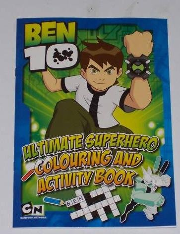 Ben 10 Ultimate Superhero Colouring & Activity Book