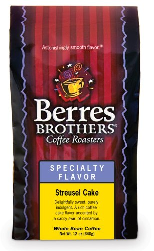 Berres Brothers Streusel Cake Whole Bean Coffee 12 Oz.