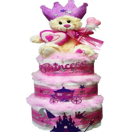 My Little Princess Newborn Baby Girl Diaper Cake