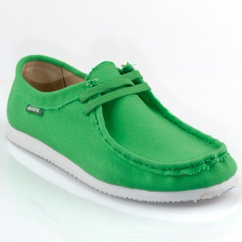Djinns Schuhe W-LOW CANVAS green, US 11 EU 45 UK 10