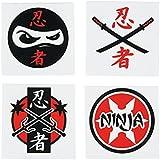 Ninja Warrior Temporary Tattoos (6 Dz)