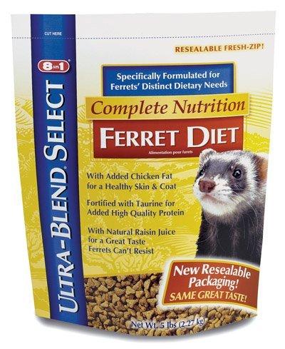 8 In 1 Ultra-Blend Select Complete Nutrition Ferret Diet
