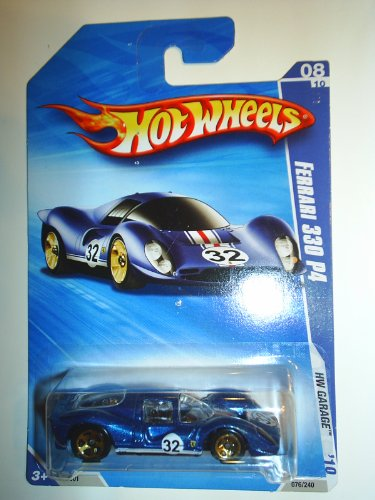 Hot Wheels 2010-076/240 HW Garage 08/10 Ferrari 330 P4 1:64 Scale - 1