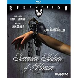 Robbe-Grillet: Successive Slidings of Pleasure [Blu-ray]