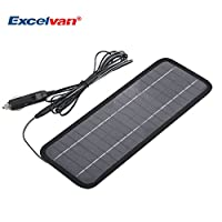 Excelvan 12V 4.5W Portable Car Solar Bat...