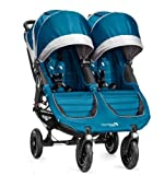 Baby Jogger City Mini GT Double Stroller, Shadow/Orange