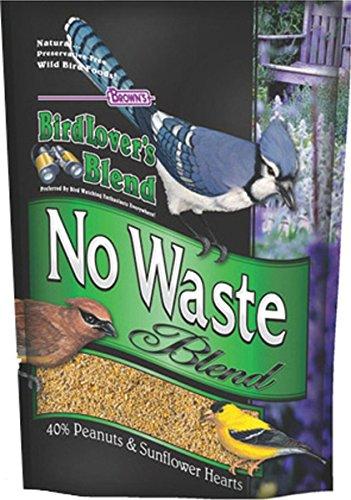 F.M. Brown's Bird Lovers Blend, 40-Pound, No Waste Blend (Bird Food Shelled Sunflower Seeds compare prices)